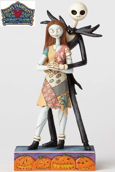 Disney Traditions Nightmare Before Christmas Jack & Sally Statue