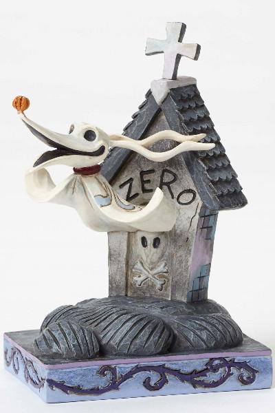 Disney Traditions Nightmare Before Christmas Zero in Dog House