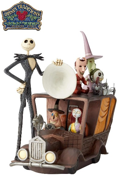 Disney Traditions Nightmare Before Christmas Mayor Car Statue