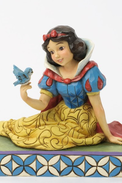 Disney Traditions Snow White with Bird Statue