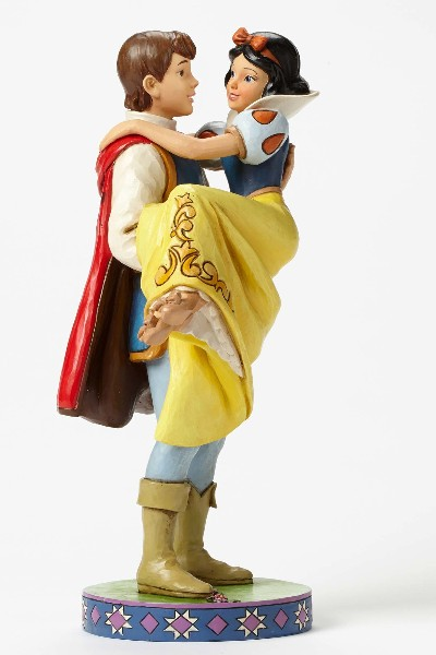 Disney Traditions Snow White & Prince Happily Ever After Statue