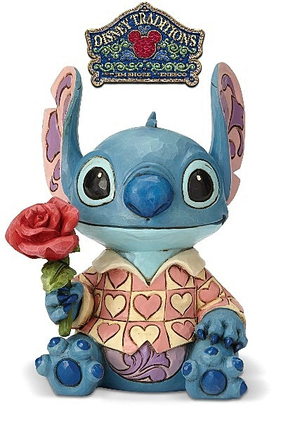 Disney Traditions Lilo and Stitch Clueless Casanova Statue