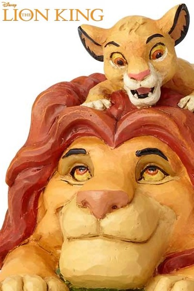 Disney Traditions The Lion Simba and Mufasa Statue