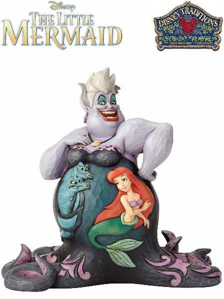 Disney Traditions The Little Mermaid Ursula Deep Trouble Statue