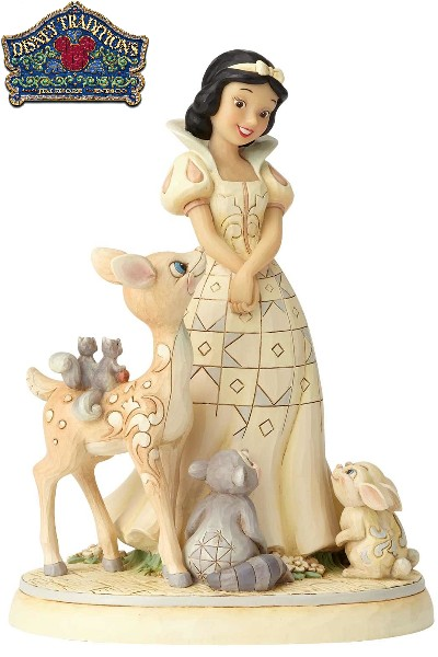 Disney Traditions White Wonderland Snow White Statue