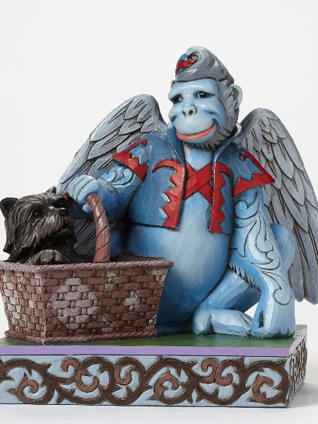 The Wizard of Oz by Jim Shore Winged Monkey with Toto Statue