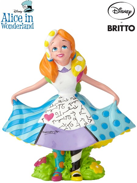 Disney by Britto Alice in Wonderland Alice Mini Figurine