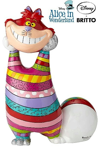 Disney by Britto Alice in Wonderland Cheshire Cat Big Figurine