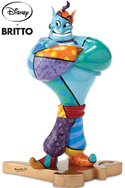 Disney by Britto Genie from Aladdin Figurine