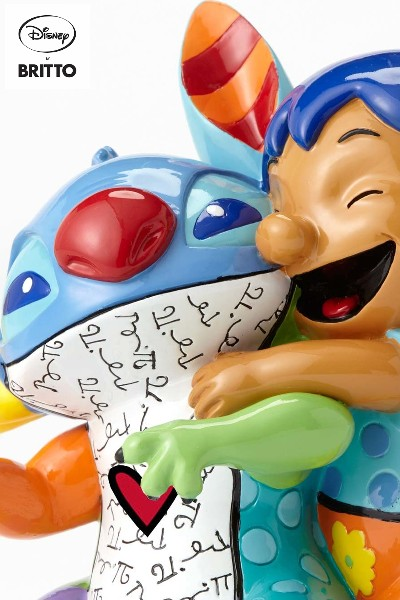 Disney by Britto Lilo and Stitch Hugging Figurine