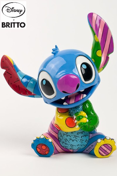 Disney by Britto Lilo and Stitch Seated Stitch Figurine