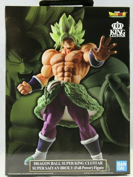 Dragon Ball Super King Clustar Super Saiyan Broly Full Power