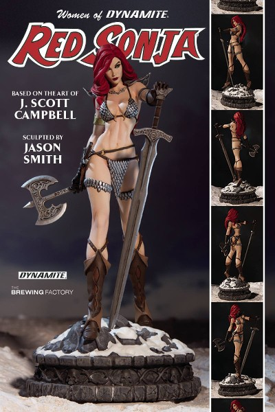 Dynamite Entertainment Women of Dynamite Red Sonja Statue
