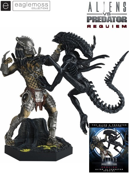 Eaglemoss AvP Requiem Alien vs Predator Special Edition Statue