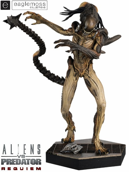 Eaglemoss Alien vs Predator Requiem Predalien Scaled Statue