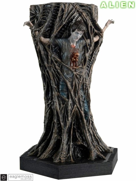 Eaglemoss Aliens Chestburster Scaled Statue