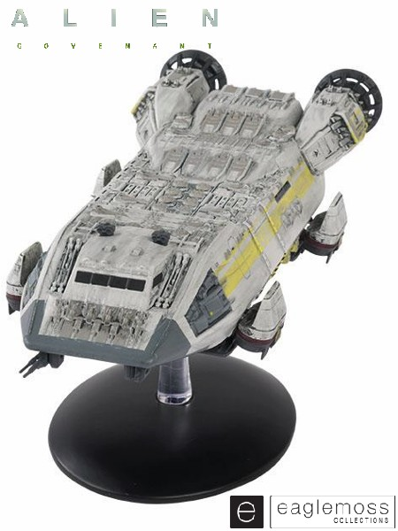Eaglemoss Alien Covenant Lander One Ship Replica