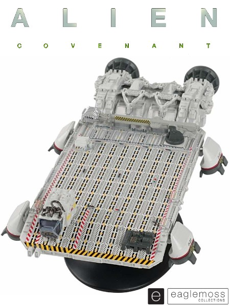 Eaglemoss Alien Covenant Lifter Ship Replica