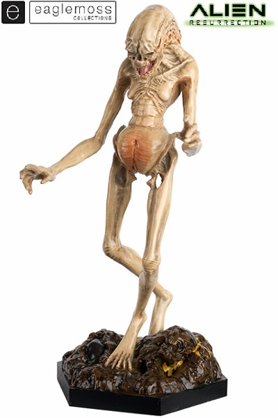 Eaglemoss Alien Resurrection Newborn Alien Scaled Statue