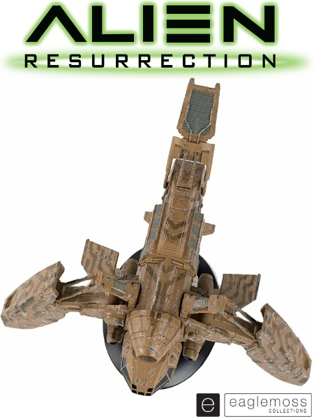 Eaglemoss Alien Resurrection The Betty Ship Replica