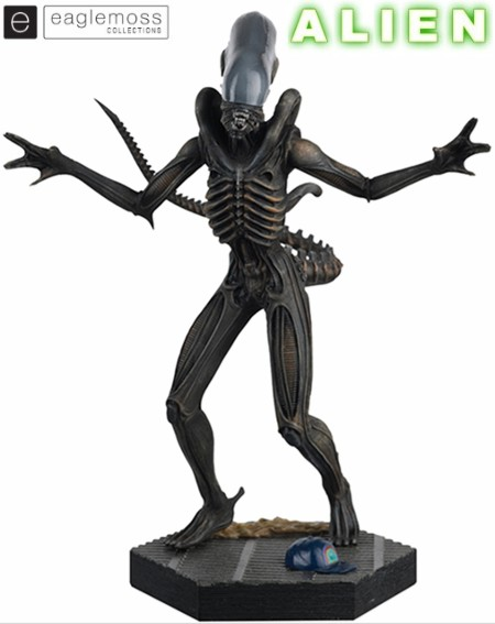Eaglemoss Alien Xenomorph Scaled Statue