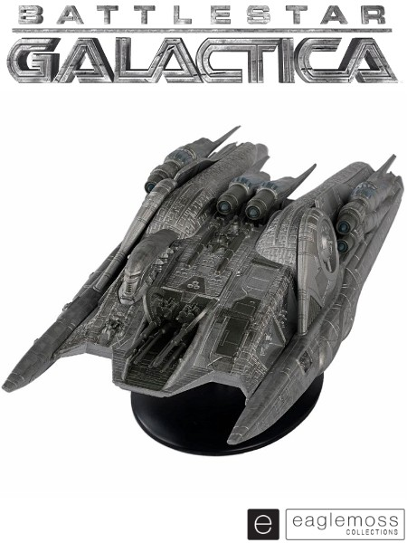 Eaglemoss Battlestar Galactica Cylon Heavy Raider Ship Replica