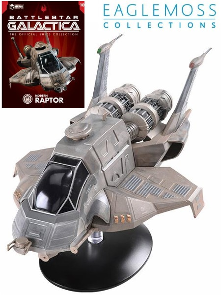 Eaglemoss Battlestar Galactica Modern Raptor Ship Replica