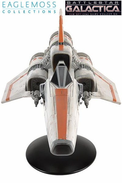 Eaglemoss Battlestar Galactica Viper Mark I TOS Ship Replica