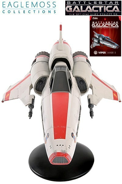 Eaglemoss Battlestar Galactica Viper Mark II Ship Replica