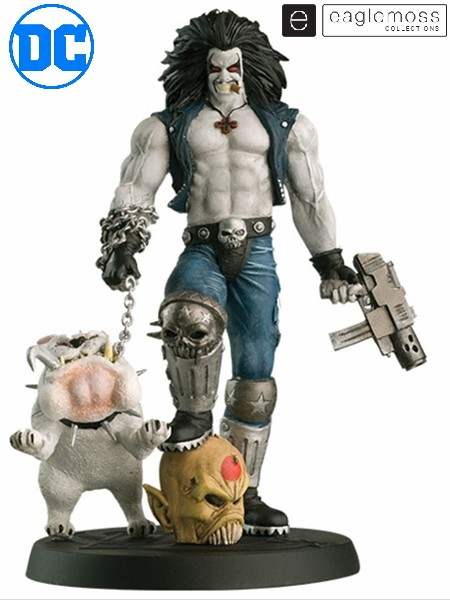 Eaglemoss DC Superhero Best of Figure Collection Lobo and Dawg