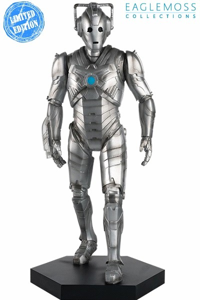 Eaglemoss Doctor Who Cyberman Mega Scale Figurine