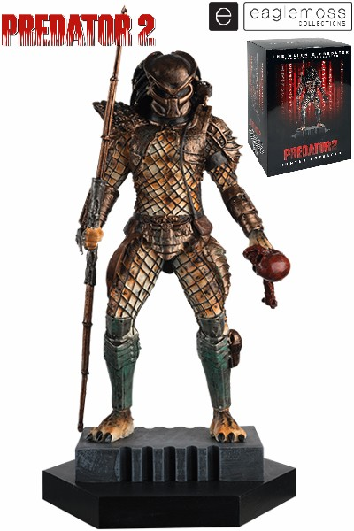 Eaglemoss Predator 2 Hunter Predator Scaled Statue