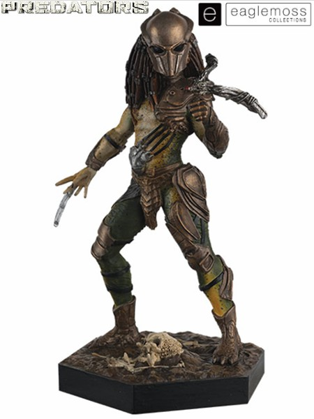 Eaglemoss Predators Falconer Predator Scaled Statue