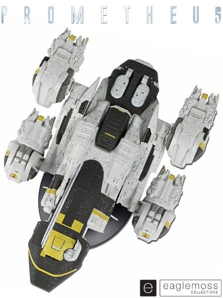 Eaglemoss Prometheus USCSS Prometheus Ship Replica