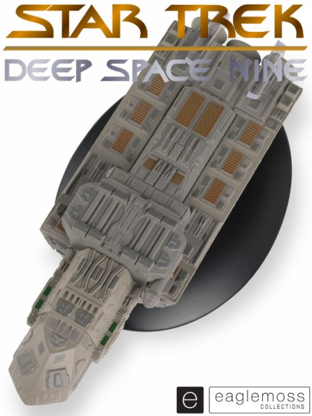 Eaglemoss Star Trek Deep Space 9 SS Xhosa Ship Replica