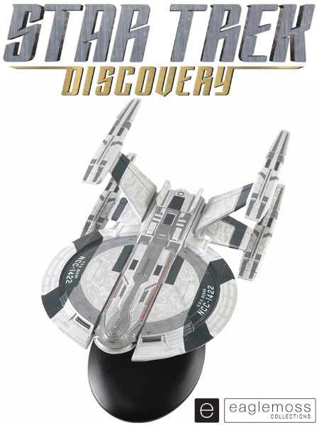 Eaglemoss Star Trek Discovery USS Buran NCC-1422 Ship Replica