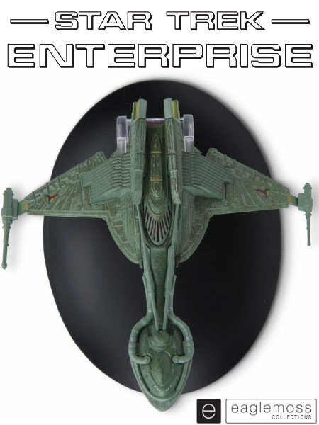 Eaglemoss Star Trek Enterprise Klingon Bird of Prey 2152 Ship