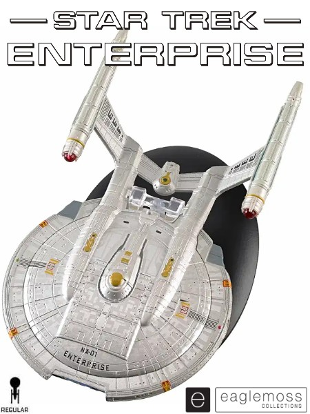 Eaglemoss Star Trek Enterprise NX-01 Ship Replica