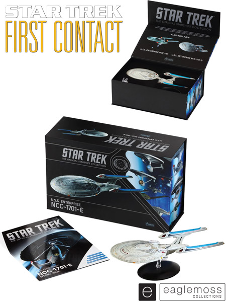 Eaglemoss Star Trek First Contact USS Enterprise NCC-1701-E XL