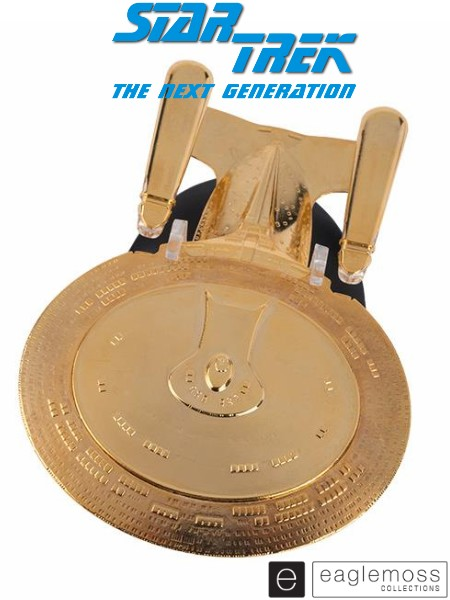 Eaglemoss Star Trek TNG USS Enterprise NCC-1701-D Gold SE Ship