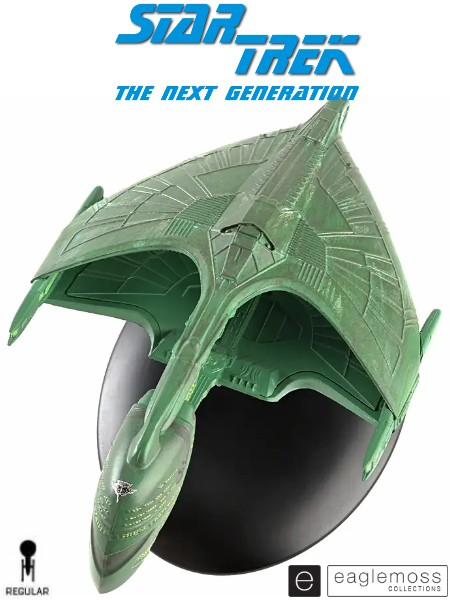 Eaglemoss Star Trek The Next Generation Romulan Warbird Ship