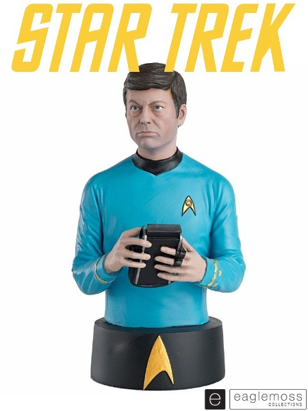 Eaglemoss Star Trek Original Series Doctor Leonard McCoy Bust