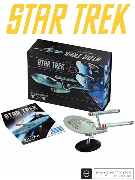 Eaglemoss Star Trek TOS USS Enterprise NCC-1701 XL Ship