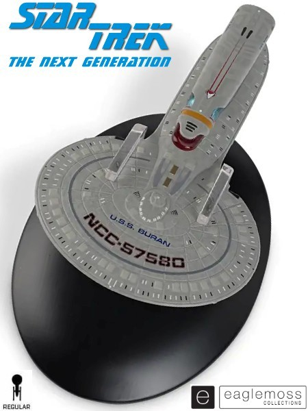 Eaglemoss Star Trek The Next Generation USS Buran Ship