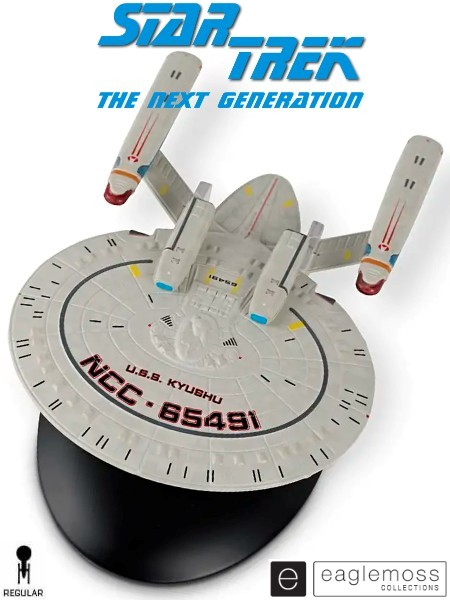Eaglemoss Star Trek The Next Generation USS Kyushu Ship