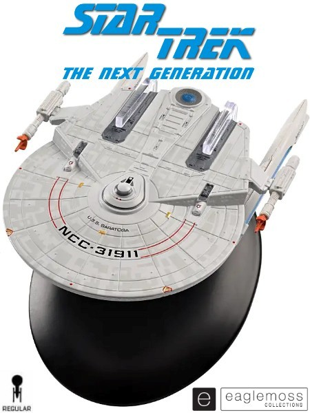 Eaglemoss Star Trek The Next Generation USS Saratoga Ship