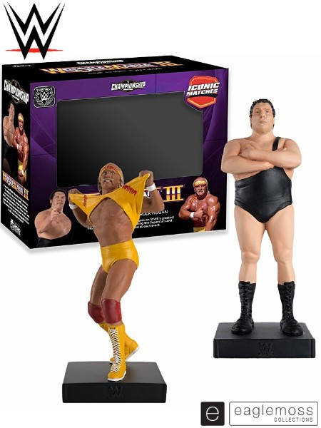 Eaglemoss WWE Iconic Match Andre the Giant vs Hulk Hogan Set