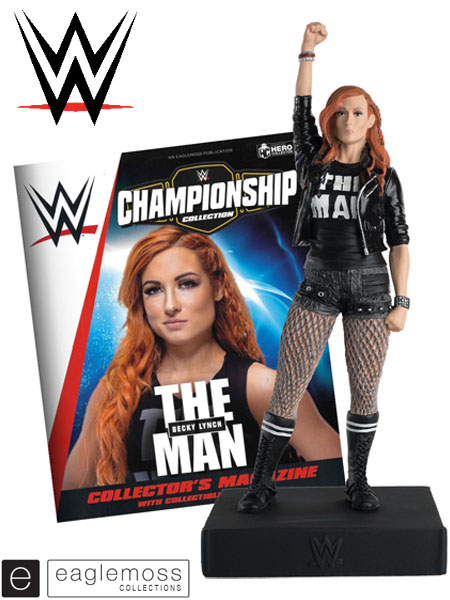 Eaglemoss WWE Championship Collection Becky Lynch Figurine