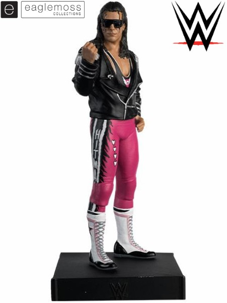 Eaglemoss WWE Collection Bret Hart Figurine