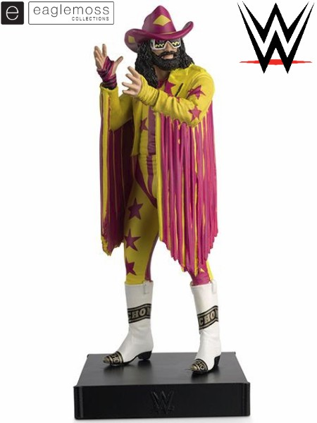 Eaglemoss WWE Collection Macho Man Randy Savage Figurine
